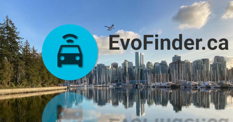Evo Finder- Find nearby Evo car share vehicles